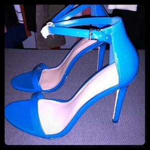 Blue Aldo Pumps